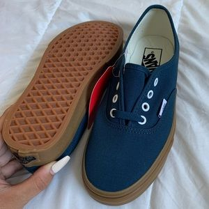 (NEW WITH TAGS) Blue Vans